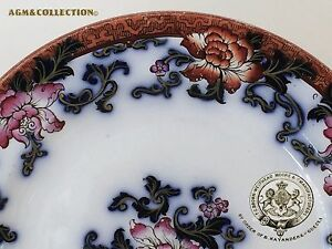 Antique Imperial Russian Porcelain Plate By T C Brown Westhead Moore