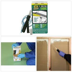 15 Board Foot Polyurethane 2 component Spray Foam Kit Moisture Resistant New