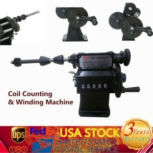 Manual Handheld Winding Machine Coil Winder Double Purpose Counting Usa