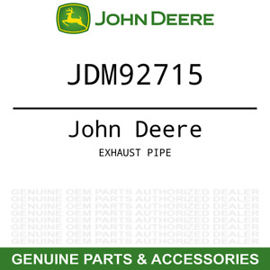 Genuine Oem Exhaust Pipe John Deere Tractor 670 770 790 870 970 990 1070 M92715