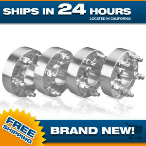 4 Hubcentric Jeep Wheel Spacers Adapters 1 5 Wrangler 5x4 5 Tj Yj Xj Kj Kk Zj Mj