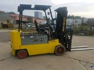 Hyster E120xl Electric Forklift With Charger