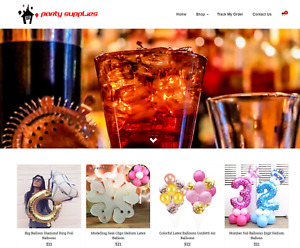 Party Supplies Turnkey Website Business For Sale Profitable Dropshipping