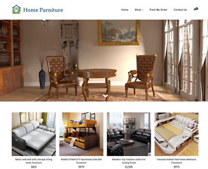 Home Furniture Turnkey Website Business For Sale Profitable Dropshipping