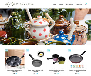 Cookware Store Turnkey Website Business For Sale Profitable Dropshipping