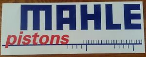 Mahle Pistons Racing Decal Sticker Hot Rod Rat Rod Dragster Auto Ships Free