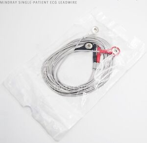 1pc Mindray New Ecg Ekg 3 lead Cable Finger Clip For Ecg Monitor