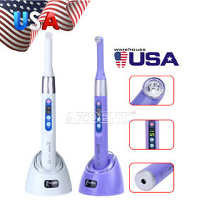 Dental Curing Light 1 Second Curing Lamp 2300mw cm 360 Woodpecker I Led Usps
