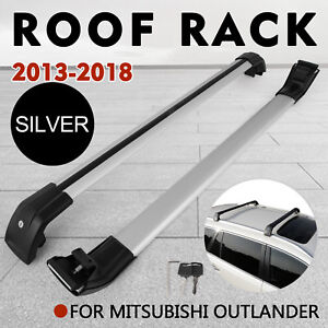 Roof Rack Cross Bar For Mitsubishi Outlander 2013 2019 Storage Pair 2 Pcs
