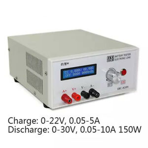 Ebc a10h Electronic Load Battery Capacity Charge Discharge Tester 30v 5 10a 150w
