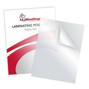 New 5mil 12 X 15 Display Sign Laminating Pouches 100pk Free Shipping