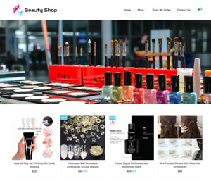 Beauty Shop Turnkey Website Business For Sale Profitable Dropshipping