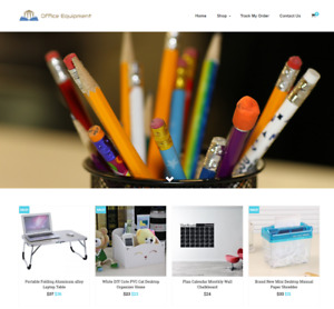 Office Equipment Turnkey Website Business For Sale Profitable Dropshipping
