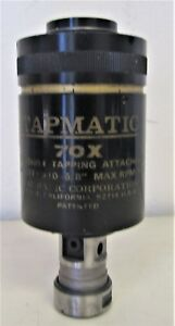 Tapmatic 70x Reversible Tapping Attachment 10 To 5 8 1000 Rpm
