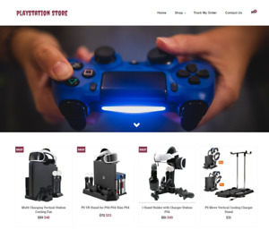 Playstation Turnkey Website Business For Sale Profitable Dropshipping