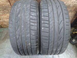 2 235 40 18 91y Bridgestone Potenza Re050a Tires 7 5 32 No Repairs 1105
