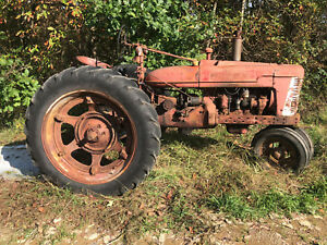 Farmall H Tractor Nice Straight Tractor International Ihc Super A B C M 300