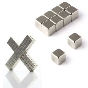 1 5 10 20 30 50 100x Strong Magnets 9mm Cube Block Neodymium Magnetic Us