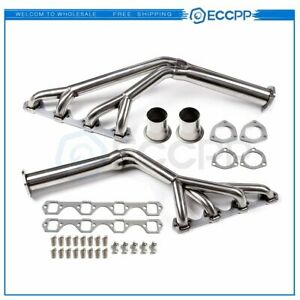 For 64 70 Mustang 260 289 302 Tri Y Stainless Racing Manifold Header Exhaust