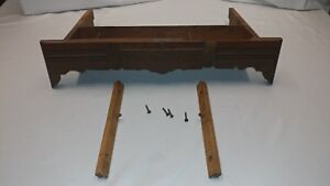 Vintage New Home Treadle Sewing Machine Center Slide Out Drawer