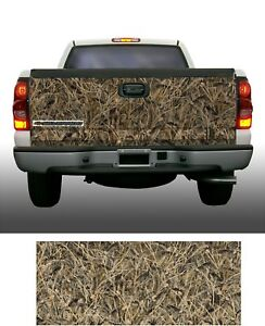 Obliteration Tallgrass Duck Camouflage Truck Tailgate Vinyl Graphic Decal Wrap