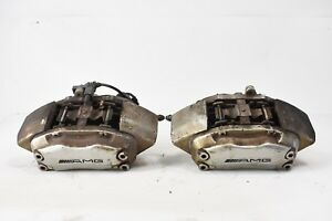 02 04 Mercedes Benz W203 C32 Amg Front Right Left Brake Calipers Pair Set