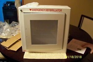new Modern Metal Products Wall Mounted Emergency Aed Cabinet W alarm