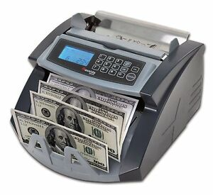 Currency Counter Machine Uv Money Detector Portable Cash Count Counting Bill New