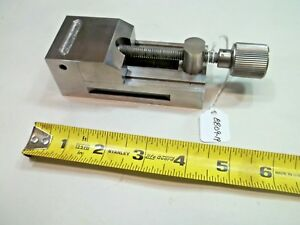 Toolmakers Vise Made By Toolmaker 1 75 W X 1 54 T X 4 1 8 L Opens To 1 75