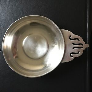 Antique Sterling Silver Baby Porringer Bowl Not Monogrammed