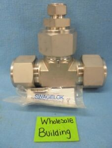 Swagelok Ss 3200 3 32 16 Tube Fitting 2 X 2 X 1 Reducing Union Tee Stainless