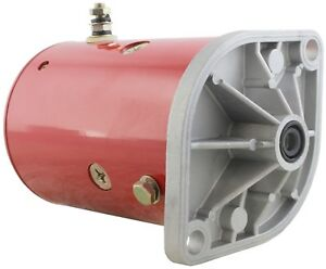 New Snow Plow Pump Motor Western W 8994 46 2473 46 2584 46 3618 56062 56133