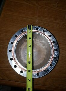 Large 6 75 High Vacuum View Port Flange Fitting For Chamber