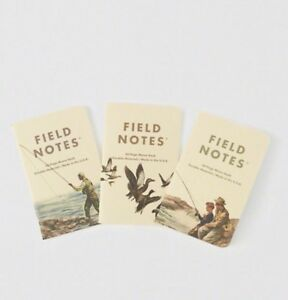 Field Notes Abercrombie Fitch Heritage Memo Books Sealed Brand New Free Ship