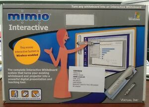 Virtual Ink Mimio Wireless Interactive Whiteboard System