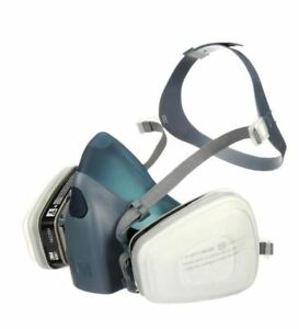 Face Reusable Painting Valved Respirator Dust Anti Paint Chemical Safety Mask