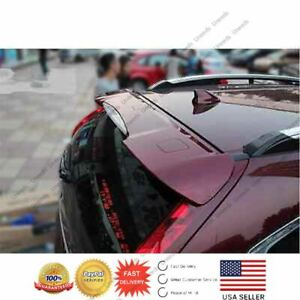 For 2012 2016 Honda Crv Cr V Oe Style Painted Red Rear Roof Spoiler Wing