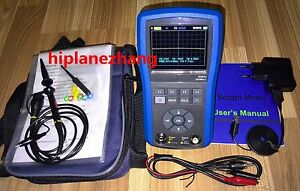 Handheld Oscilloscope 50mhz 200ms s Function Signal Generator 156khz 2in1 Tftlcd
