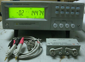 High accuracy Benchtop Lcr Meter 10khz Inductance Capacitance Rz Dq Test Th2811d