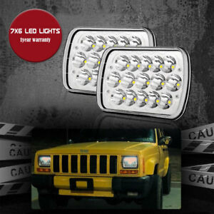 Truck Lite 5 X 7 Led Headlight For Jeep Yj Wrangler Jeep Cherokee Xj Hardbody