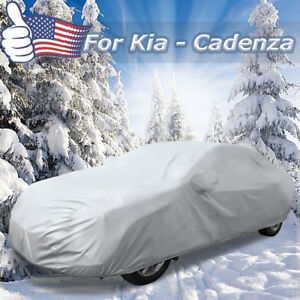 3xxl Silver Tone 210d Car Cover Outdoor All Weather Breathable 530 X 185 X 160cm