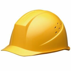 Midori Anzen Safety Hard Hat For Construction Helmet Yellow Japan With Tracking