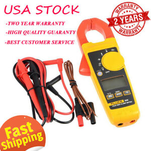 Fluke 325 True Rms Clamp Meter True Rms Measurements Optimized Ergonomics