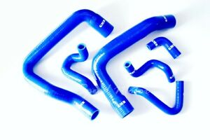 Radiator Silicone Hose Kit For Ford Mustang 1986 1993 Gt Cobra V8 5 0l Blue