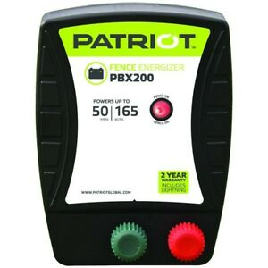 Patriiot Pbx200 Battery Energizer 1 9 Joule Farm Poultry Electric Fencing