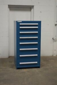 Used Vidmar 8 Drawer Cabinet Industrial Tool Storage 713
