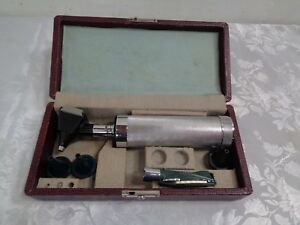 Welch Allyn Otoscope Opthalmoscope Kit Tested Working Fast Ship