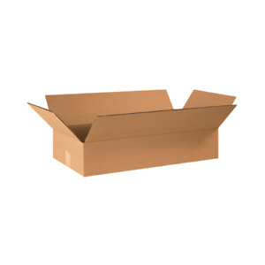 24x12x4 Shipping Boxes 25 Or 50 Pack Packing Mailing Moving Storage