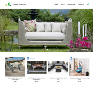 Garden Furniture Turnkey Website Business For Sale Profitable Dropshipping