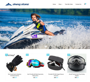 Established Skiing Turnkey Website Business For Sale Profitable Dropshipping